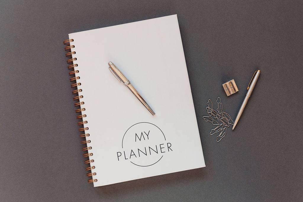 My Planner hardbacked business planner
