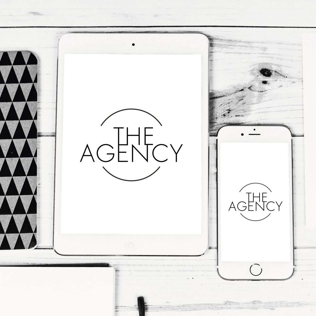 The Agency social media business on iphone and ipad